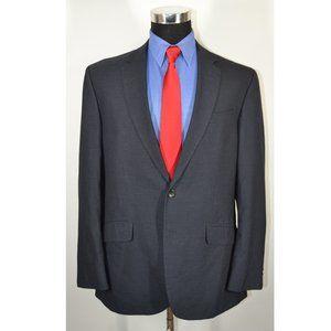 Kenneth Cole 44R Sport Coat Blazer Suit Jacket Cha